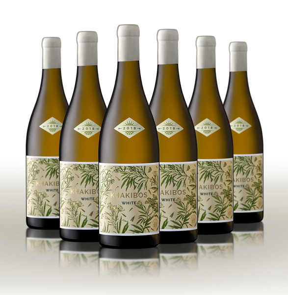 Khakibos  White 2018 - Case of 6 - Free delivery RSA only