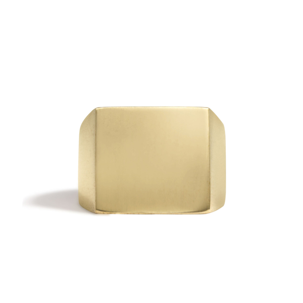 Solid Square Signet Ring