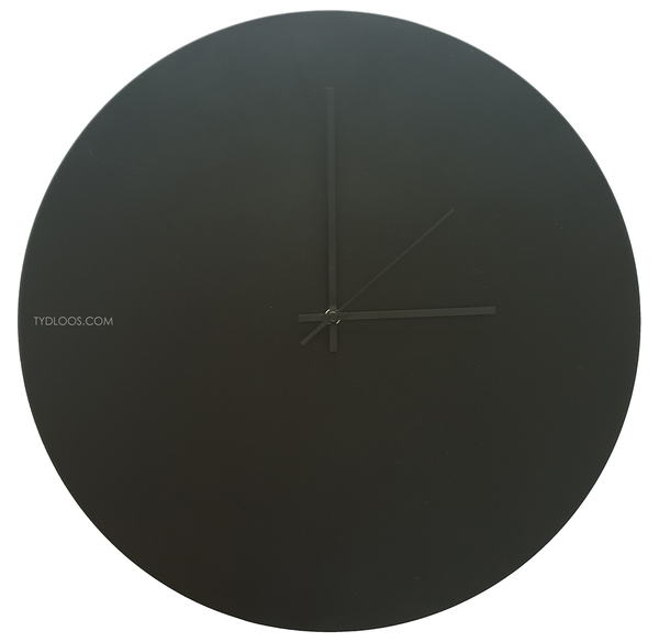 Powder coated aluminium plate in matt black