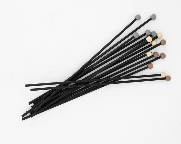 Diffuser reeds Black with assorted beads