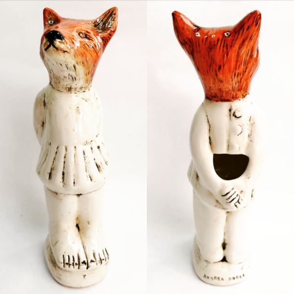 A Fox Flower Vase