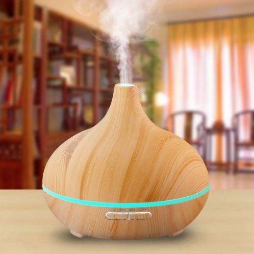 Loove Woodgrain Essential Oil Aroma Diffuser