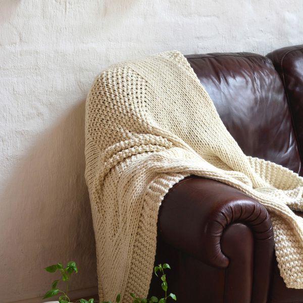 Handmade with 100% pure Merino Wool from the heart of the Karoo.  Dimensions: 150 x 120 cm