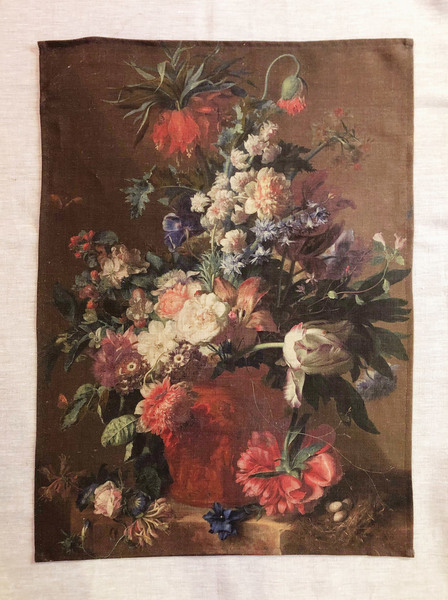 Dutch Painting Linen Cloth