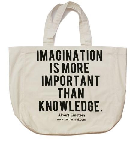 Imagination Inspirational Tote Bag - KAMERS