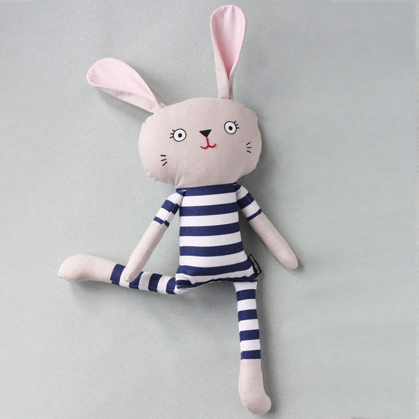 Pyjama Bunnies are friendly companions from playtime to sleep time! They are available in a range of limited edition fabrics and will steal your heart with their kooky smile. Pyjama Bunnies are safe for little ones as they have no loose parts. That makes them the perfect gift for an expectant mama or the  little hooligans in your life.