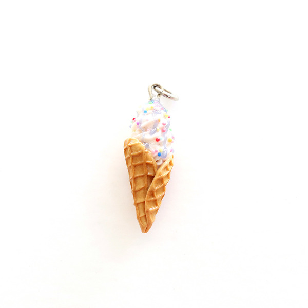 Each Ice Cream charm is delicately handmade with much love and care to produce a perfectly decadent charm that can be added to your favourite necklace or bracelet. You can choose to buy just the charm on it's own, add a sterling silver bracelet or 45cm sterling silver chain by selecting your desired option
