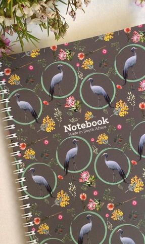 A5 Notebook Precious Blue Crane