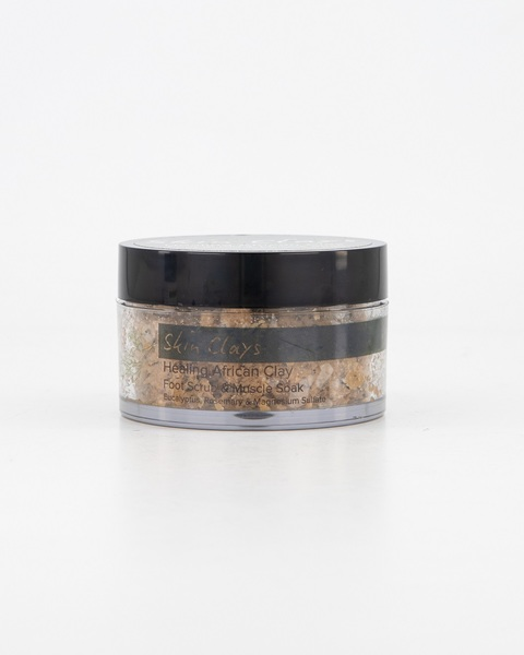 Foot and Body Scrub Healing African Clay  100g