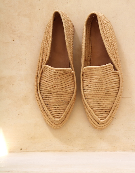 The Raffia Slip in