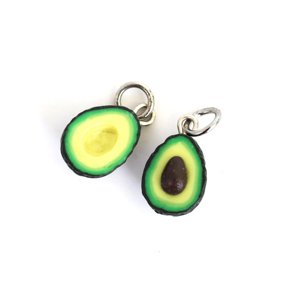 Avocado charm/Necklace