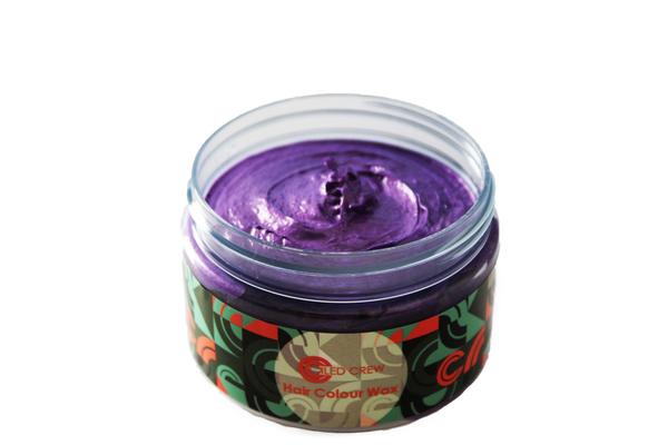 Purple Hair Colour Wax