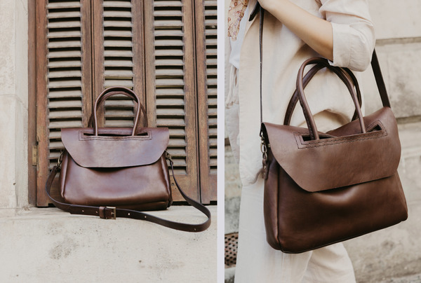 The Heirloom Carryall - earth