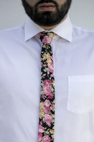 100% Cotton 50mm Skinny Tie Imported Fabric Handmade in South Africa