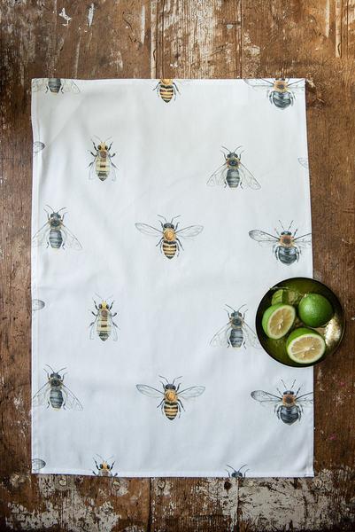 Vintage Bee Tea Towel