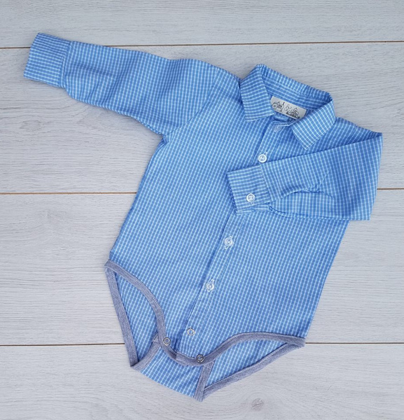 If you are looking for a little check to pair with a formal of cuffed pants, this is you shirt.