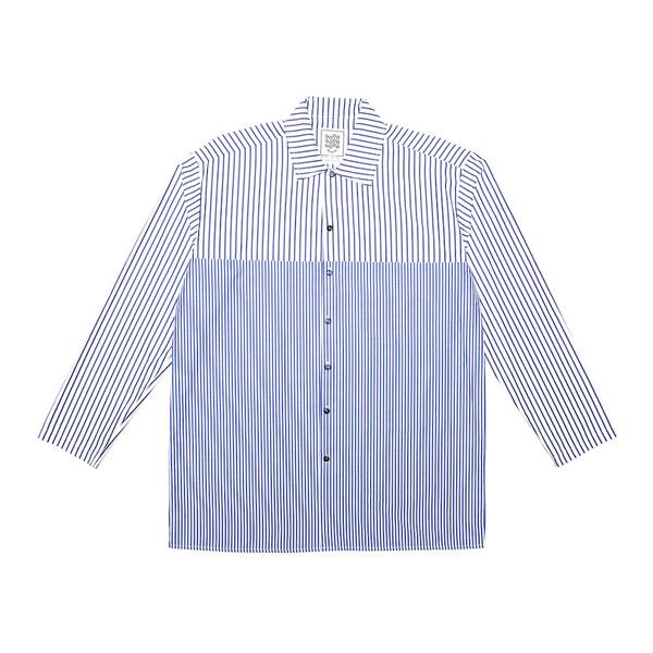 Resort Shirt - Horizontal Split - Navy