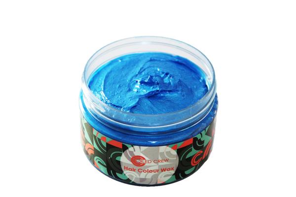 Blue Hair Colour Wax