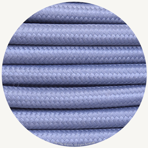 Lilac Fabric Cable
