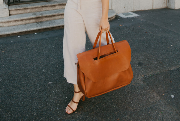 Heirloom Travel Bag - tan