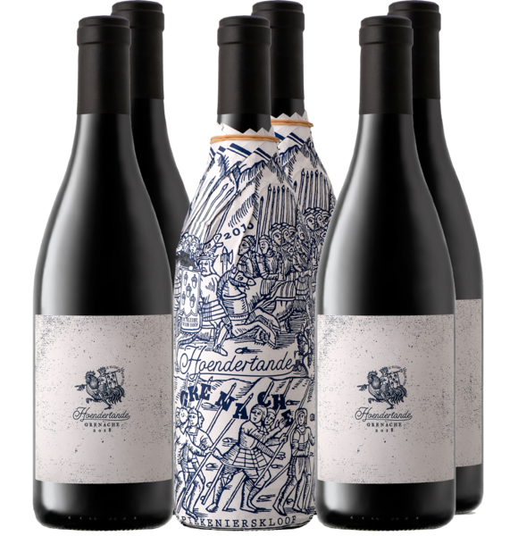 "Hoendertande Grenache comes from the extremely sought-after Piekenierskloof appellation and like the ""Ou Treffer Cinsault"", only 1 barrel was produced. Also referred to as the ""abalone"" of the valley, sought-after, treasured… as scarce as hens' teeth.