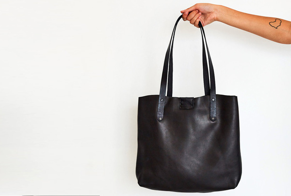 Soft Tote Bag - Onyx
