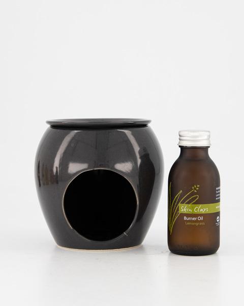Burner Black with Lemongrass