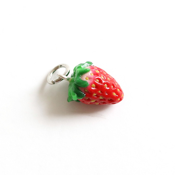 Strawberry Charm/ Necklace