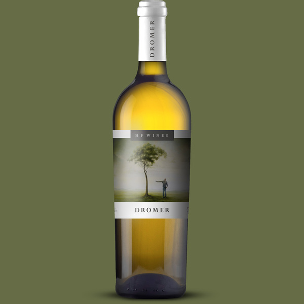 Dromer White 2015  Crafted from 60% Sauvignon Blanc and 40% Semillon in a Sancerre style, this white Bordeaux is created from selected vineyards from Darling and Botrivier. 50% of the blend was wild fermented in French Oak to add body, structure and finesse. The sites were specifically selected for the soils, aspect and cold units. Both sites being located in cooler growing areas, the creation and protection of wanted phenols are guaranteed, and the very little needs to be done in the winery to ensure wines of the greatest quality.