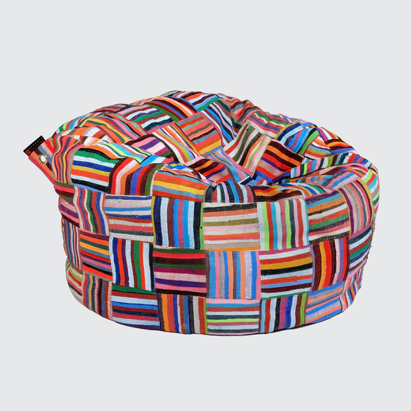 Filled / R 5,830  Flat / R 5,390  Sink into our 'double snuggler' together, or sprawl out on your own. The Big BoriBori is the ideal indulgent Bean Bagwith great back support.  REQUEST DETAILS  Dimensions   Filled: 1200mm (d) x ±700mm (h) Flat Pack: 460mm (l) x 530mm (w) x 160mm (h)   Product code:   Filled: BBRM Flat Pack: BBRMFP   GLOBAL FILLING SUPPLIERS LIST   << < Back to Bean Bags