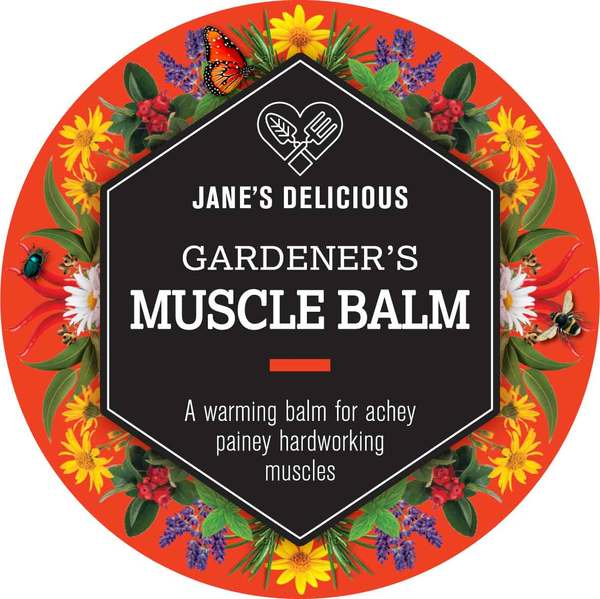 A warming balm for achey painey hardworking muscles. 