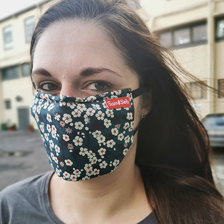 This is the #dailymask. Easy to breathe, easy to wear