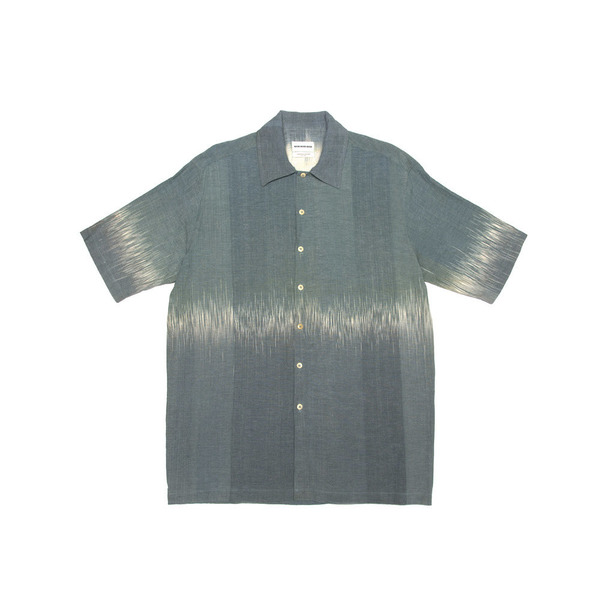 Box Shirt - Naturally Dyed at Tarum Bali (Leaf Green)