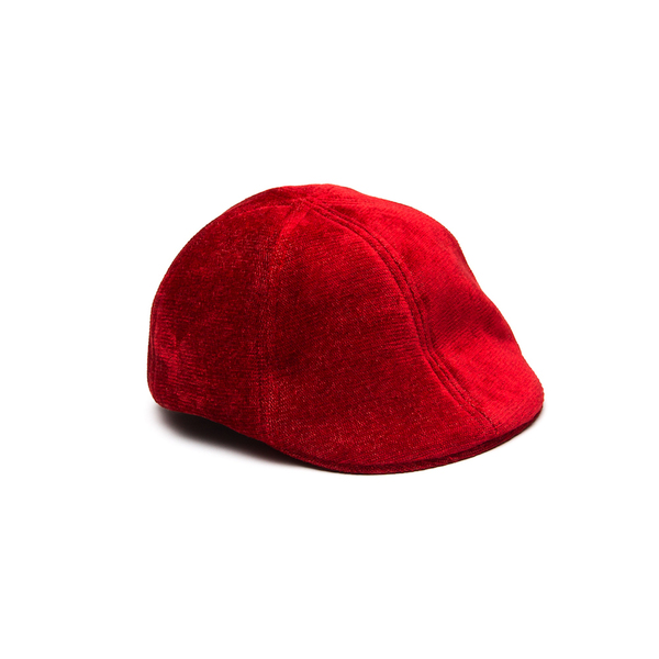 Newsboy Flat Cap - Plain Red