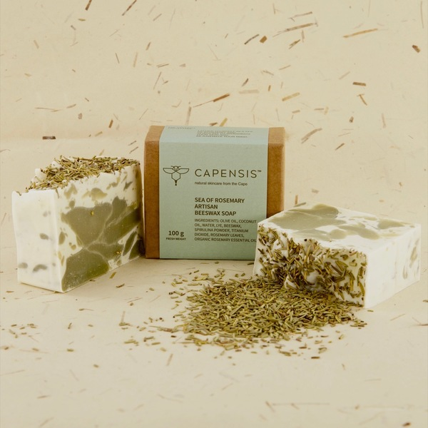 Sea of Rosemary Natural Soap Bar