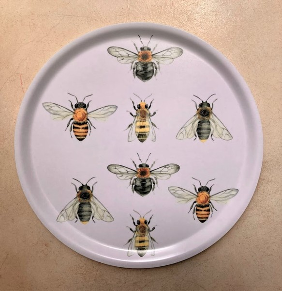 Vintage Bee Tray