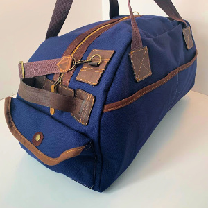 Weekend Duffel Bag - Canvas and Leather