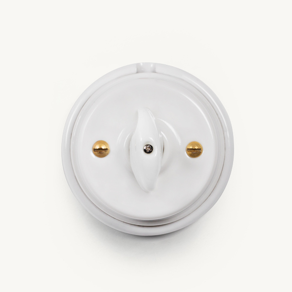 2 Way Porcelain Wall Switch