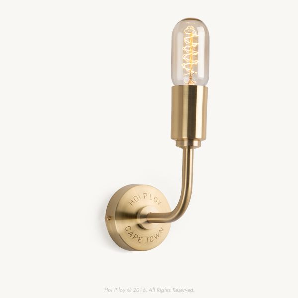 Signature 90 Degree Brass Wall Sconce