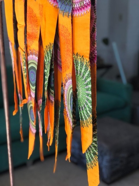 Handmade Shwe-Shwe print hairbands for women. Crafted by local Stellenbosch women, providing employment and skills to women in the community.