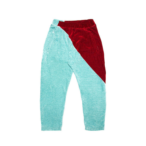 Sunday Trousers - Sea Spray/Red
