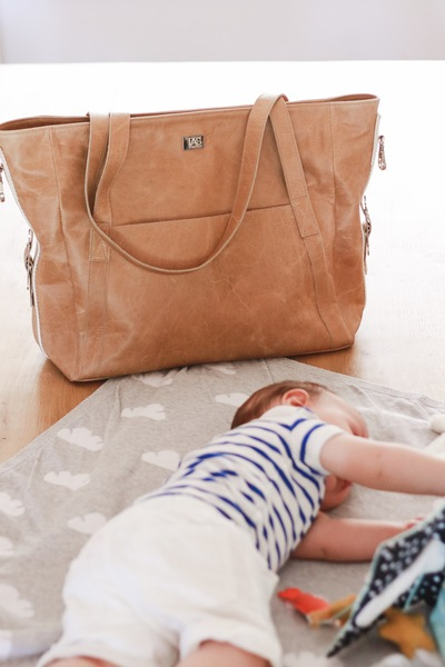 The Amelie is a baby bag designed by Isabel whilst she was pregnant with her baby Amelie. The bag can also be used as a travel bag because of its versatile style. All of your baby essentials can fit into this bag.