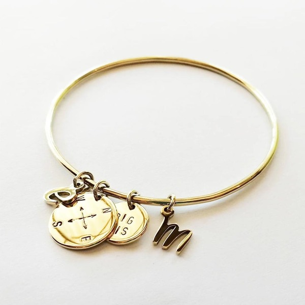 CHARMS and BANGLES are ordered seperately to make up a personalised bangle.