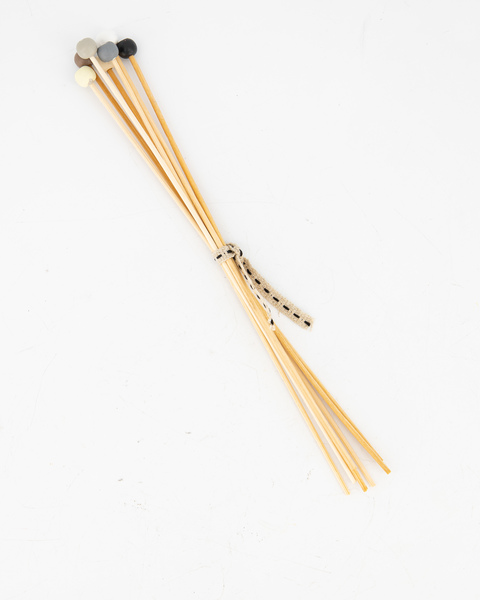 Diffuser Reeds Bamboo Natural with beads