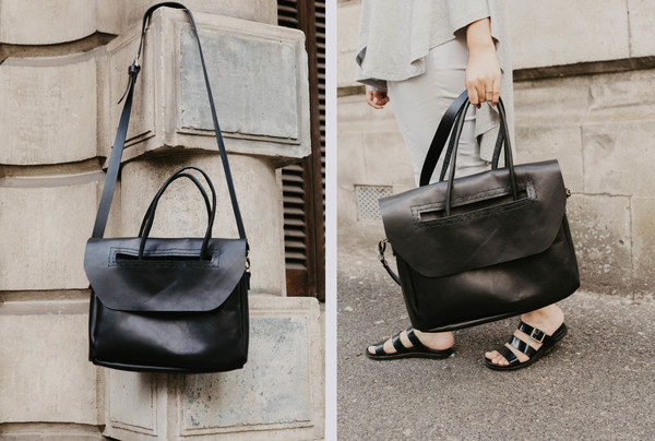 The Heirloom Carryall - licorice