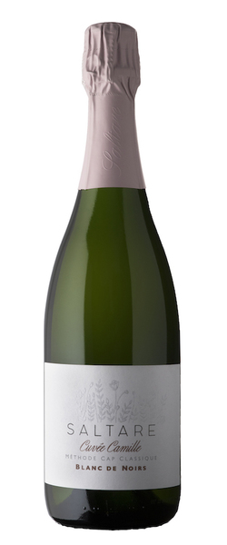 "Our newest baby, a vintage 2015 Blanc de Noirs made from Pinot Noir grapes. This was a labour of love from the outset, with near perfect conditions during the 2015 season, grapes harvested at ideal sugar and acid levels, gentle pressing and slow fermentation that resulted in a small tank of beautiful base wine. ""I simply could not blend it into my Nature or Reserve blend, it begged to be bottled on its own"", says winemaker Carla. The result after 42 months on the lees is a one-off, special release, named after Carla and Christoff's daughter who was born while this cuvée was developing.