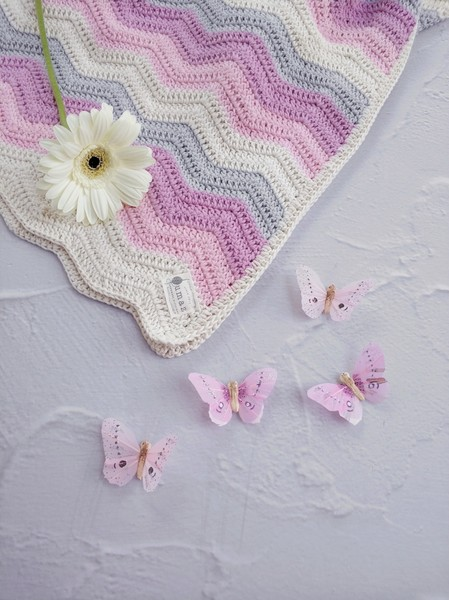 The Grace Blanket (Candy Floss Rainbow)