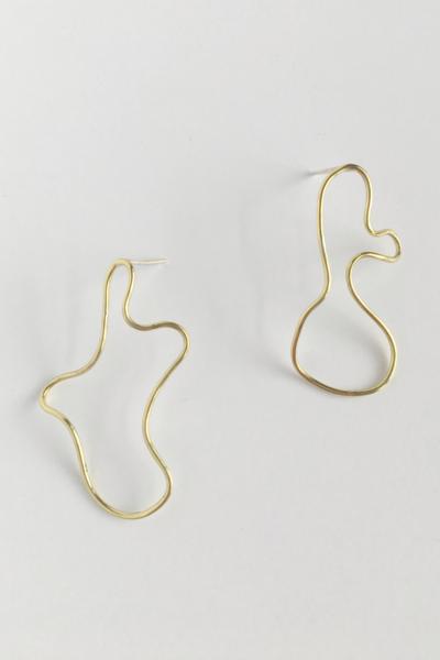 Mini Sculpture Earring