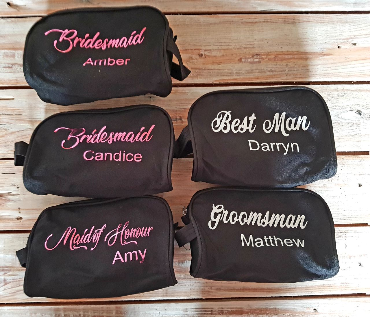 Personalised Cosmetic Bags