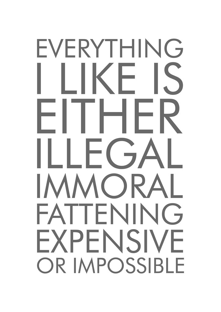 ILLEGAL, IMMORAL, EXPENSIVE